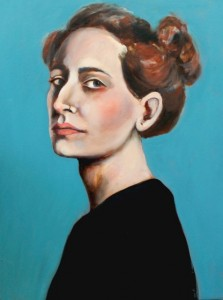 Raphaella, oil on canvas, 70x90cm, 2015